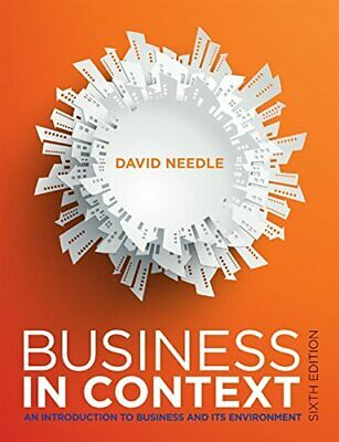 Business In Context By Needle, David Book The Cheap Fast Free Post • 20.99£
