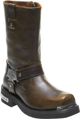 3205b2fde0a34c Harley-Davidson® Men s Charlesfort Brown Leather Motorcycle Riding Boots  D96150 • 179.95