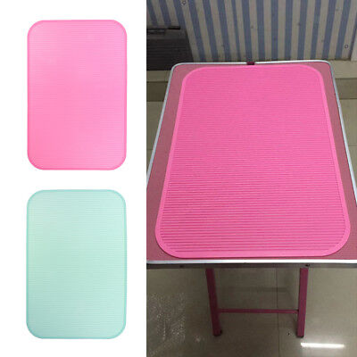 Pet Dog Cat Grooming Table Top Rubber Mat Non-slip Pink&Green • 24.67£
