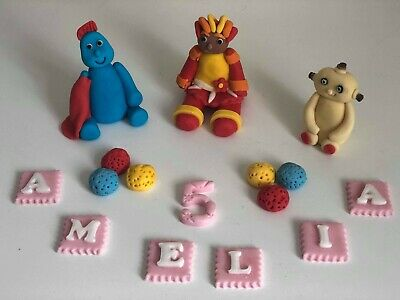 In The Night Garden Unofficial Cake Topper Decoration Cbeebies Handmade Edible • 6£