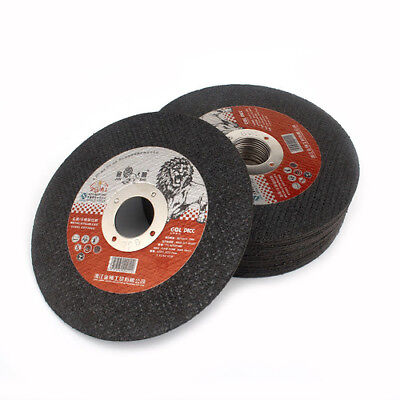 AU22.72 • Buy 25Pcs 5Inch 22mm Hole Resin Cutting Wheel Disc For Angle Grinder Metal Cut Off