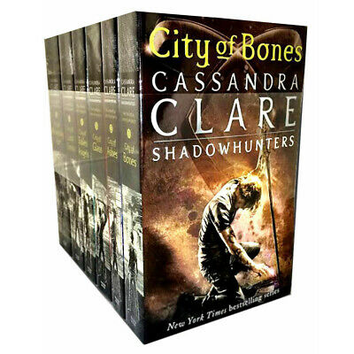 Cassandra Clare Mortal Instruments 6 Books Set Collection Shadow Hunters New PB • 16.42£