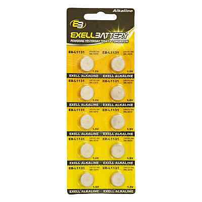 AU9.24 • Buy 10pk Exell EB-L1131 Alkaline 1.5V Watch Battery Replaces AG10 389 LR54