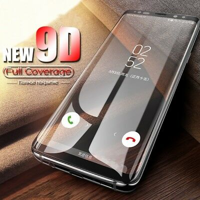 $ CDN2.35 • Buy Full Cover Tempered Glass For Samsung Galaxy S8 S9 Note 8 9 Screen Protector ES