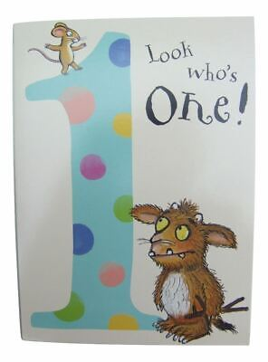 £3.49 • Buy The Gruffalo Birthday Card For A 1 (One) Year Old By Danilo - GR001
