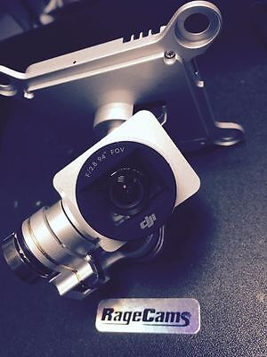 AU1512.63 • Buy PHANTOM3 Pro 4k DJI CUSTOM MODIFIED FIXED ZOOM LENS INSPECTION CAMERA 2 LENSES