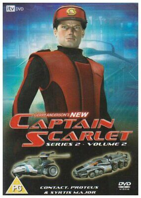 Captain Scarlet - Gerry Anderson's New Captain Scarlet: Series 2 ... - DVD  SCVG • 10.94£