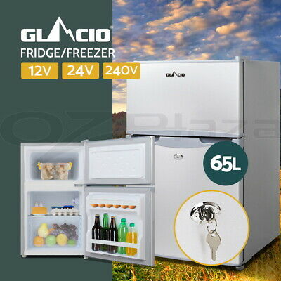 AU455.95 • Buy Glacio 65L Portable Fridge Bar Freezer Cooler Upright 12V/24V/240V Caravan Car