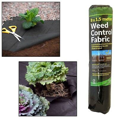 £22.75 • Buy Garden Weed Control Fabric Membrane Ground Sheet Cover Decking Landscaping