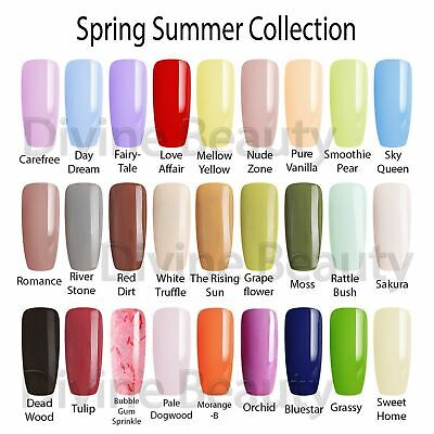 Bluesky Most Wanted Spring Summer Collection UV/LED Nail Gel Polish 10ml • 6.95£