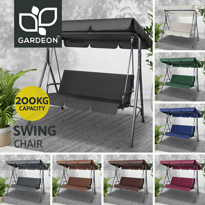 AU152.95 • Buy Gardeon Outdoor Furniture Swing Chair Patio Garden Canopy Bench Seat Hammock