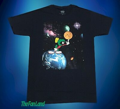 aabbc7c26 New Space Jam Marvin The Martian Looney Tunes Vintage 1996 Mens T-Shirt •  19.95