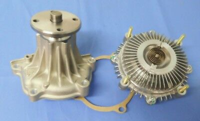AU120 • Buy Holden Rodeo New Water Pump & Fan Clutch Combo For 4ze1 2.6 Petrol Engine