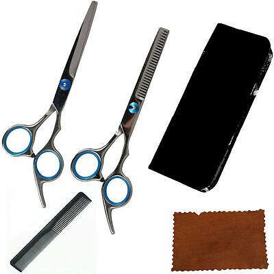 £8.95 • Buy Professional Barber Hairdressing Scissors Thinning Hair Cutting Shears Set+ Case