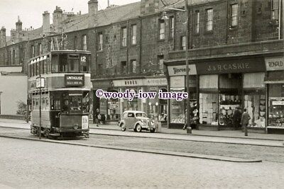 £2.20 • Buy A0765 - Glasgow Tram - On Route 12 To Linthouse By Mayfair Cafe - Print 6x4