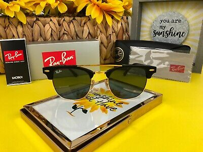 3934238bde New Ray-Ban RB3816 901 Clubmaster Double Bridge