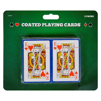 Pack Of 2 PLAYING CARDS-Poker Gambling Gaming Snap Etc Deck Kings Queens FAST  • 2.50£