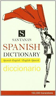 Santana's Spanish Dictionary- • 6.93£