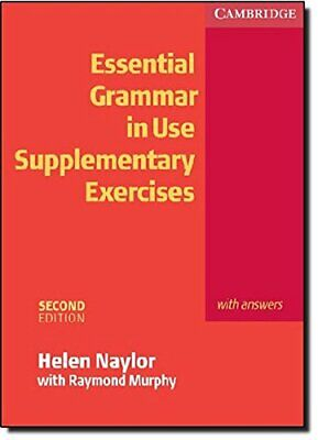£8.99 • Buy Essential Grammar In Use Supplementary Exercises... By Murphy, Raymond Paperback