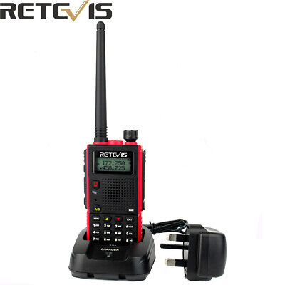Retevis RT5 Dual Band UHF/VHF Walkie Talkie 128CH Alarm Portable Two Way Radio • 24.99£