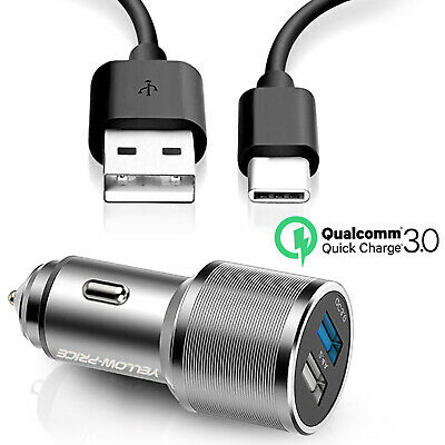 $ CDN9.99 • Buy Original Samsung Galaxy S9 S8Plus Note8 9 Adaptive Fast Car Charger Type-C Cable