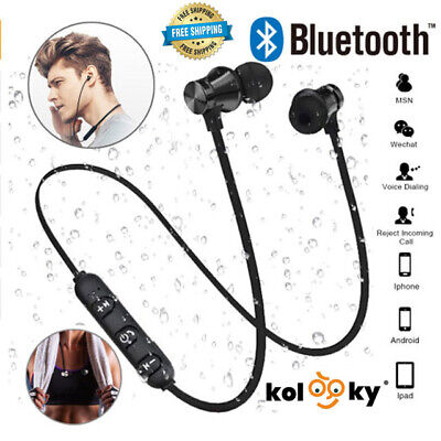 $ CDN11.32 • Buy Bluetooth Earphones Sweatproof Wireless Headphones Headset