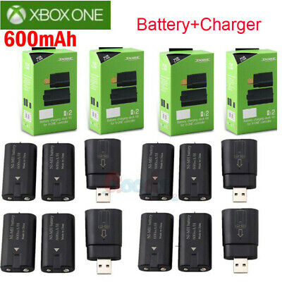 $20.99 • Buy For Xbox One Controller 8x Rechargeable Battery Pack +Charger Charging Dock Kits