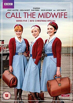 Call The Midwife - Series 5 + 2015 Christmas Special [DVD] [2016] - DVD  O8VG • 8.58£