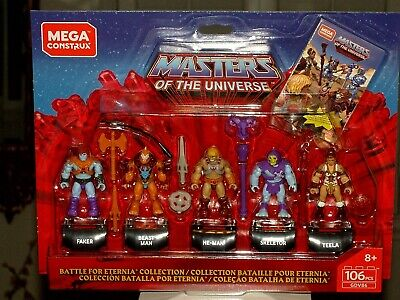 $26.95 • Buy Masters Of The Universe MCX Heroes Collector's Edition Mini-Figure 5-Pack