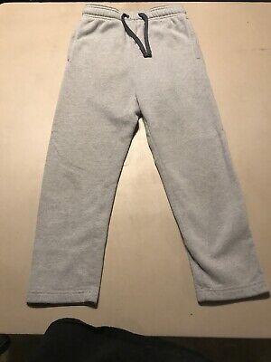 $9 • Buy Boys Tek Gear Fleece Pants Gray Sz Small