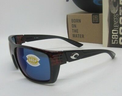 eea00dcf51 COSTA DEL MAR Tortoise blue Mirror HAMLIN POLARIZED 580P Sunglasses! NEW IN  BOX!