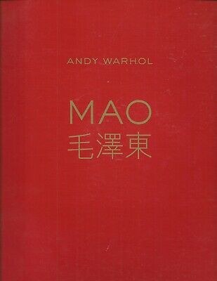 $500 • Buy ANDY WARHOL MAO CHRISTIE'S Exhibition Book / Catalog 2008 Hong Kong