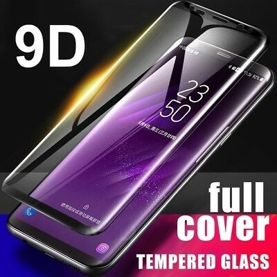 $ CDN2.89 • Buy For Samsung Galaxy S8 S9 Plus Note 8 9 Tempered Glass 9D Screen Protector - BF