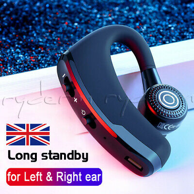 Hands Free Bluetooth 4.0 Headset Car Kit Handsfree For Iphone Samsung Htc Uk • 8.99£