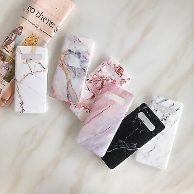 $ CDN4.65 • Buy New Soft Glossy Marble Phone Case For Samsung Galaxy S10e S10 S8 S9 Plus S7 Edge