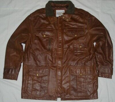 AU109 • Buy M65 Field Leather Jacket Made From Glazed Goat Leather (Small Size)