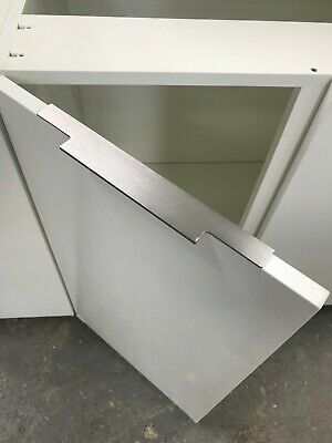 High Gloss Replacement Premier Kitchen Doors In White, Light Grey Or Graphite • 21£