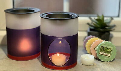 2 Official Yankee Candle Beach House Melt Warmer Burners + 6 Classic Wax Tarts • 19.99£