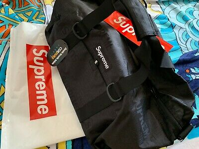 $ CDN429 • Buy 🔥New Cordura Nylon Supreme Duffle Bag Ss19 (spring/summer) 2019 Black