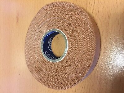 1 Roll Physio Med Rigid Sports Strapping Tape 12.5mm X 13.7m Athletic Support • 1.30£