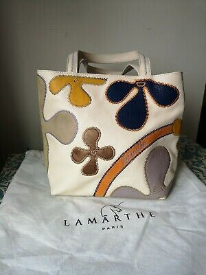 Lamarthe Paris Soft Buttery Leather Handbag Never Been Used Dust Bag Included • 95.99£