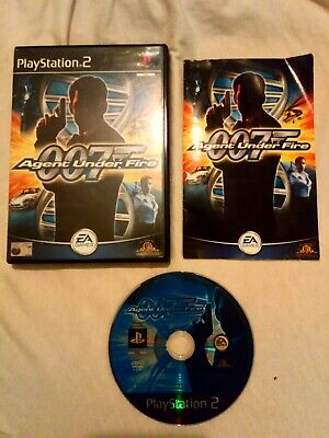 James Bond 007 In... Agent Under Fire FOR PAL PLAYSTATION 2 PS2 GAME • 1.49£