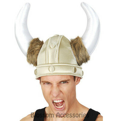 A832 Roman Sot Viking Helmet Horns Hat Medieval Gladiator Armour Costume Party • 9.30£