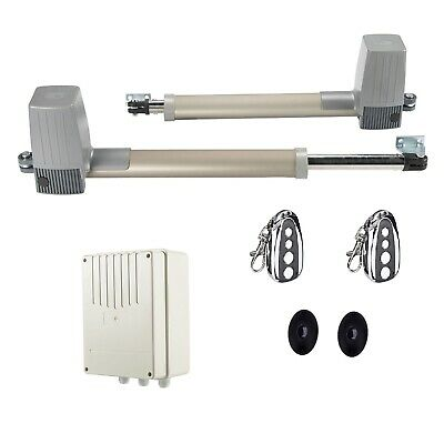 £224.99 • Buy Electric Swing Gate Opener Operator Double Arms Remote Control Door Gate Kit