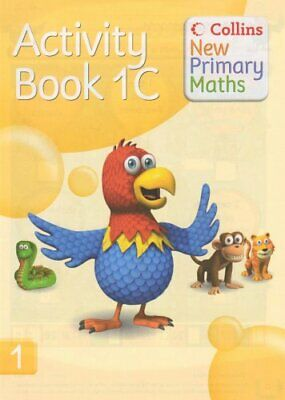 Collins New Primary Maths - Activity Book 1C Paperback Book The Cheap Fast Free • 8.49£