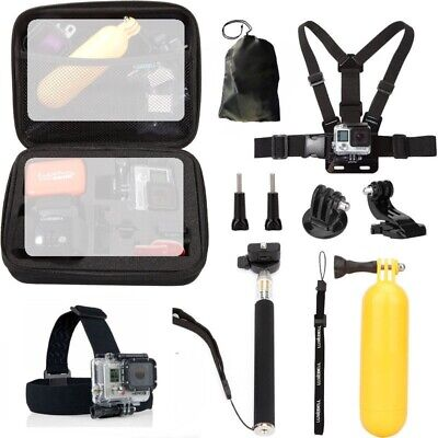 $ CDN22.41 • Buy For GoPro Hero7/6/5/4/3 Camera Accessories 10 In 1 Accessories Sports Kit