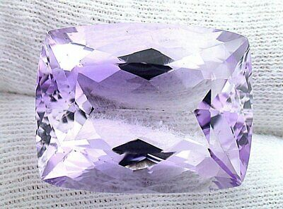 $93.59 • Buy 32.90 Carat Cushion Natural Light Lilac Rose Amethyst Gemstone EBS8201 CLOSEOUT
