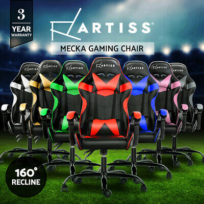 AU157.95 • Buy Artiss Gaming Office Chair Computer Executive Chairs Seating Racing Racer