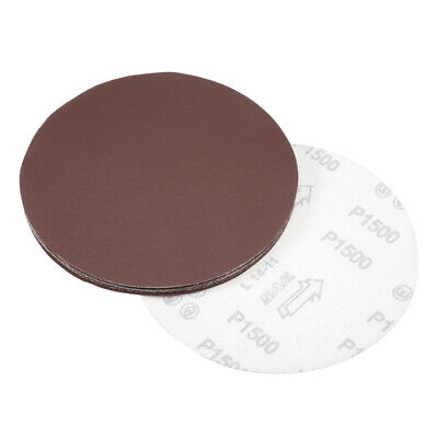 AU14.77 • Buy 7 Inch Sanding Disc 1500 Grits Flocking Sandpaper For Sander 10 Pcs