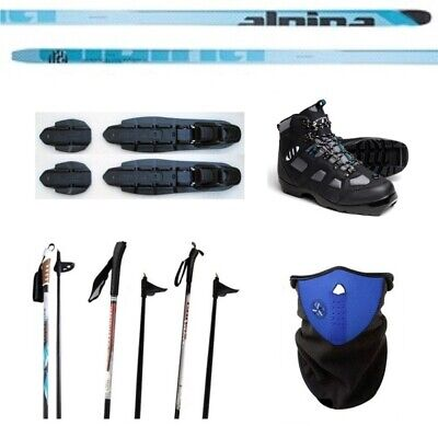 $ CDN307.43 • Buy NEW ALPINA FRONTIER XC CROSS COUNTRY NNN SKIS/BINDINGS/BOOTS/POLES PACKAGE 182cm